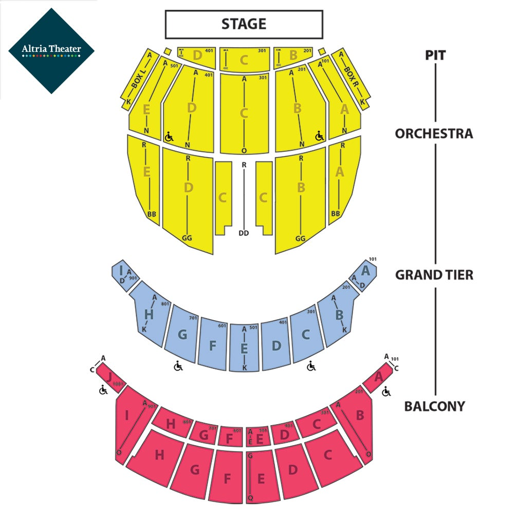 Altria Seating Chart