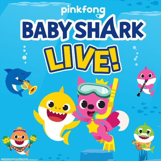 Baby Shark Live! At Altria Theater Is Rescheduled For October 1