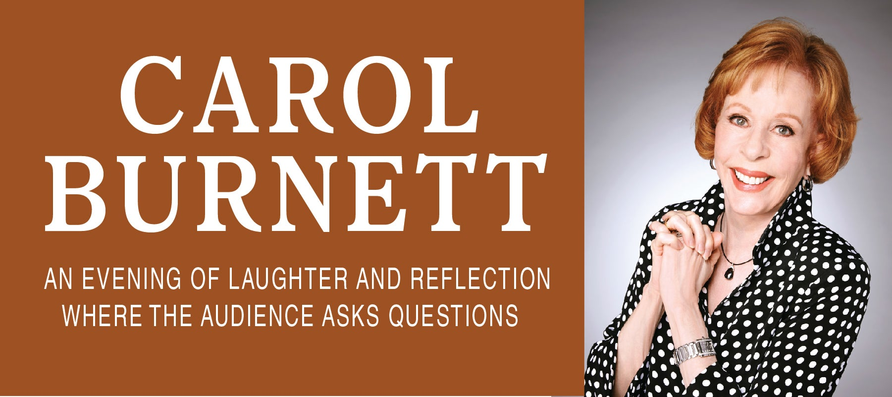 Carol Burnett: An Evening of Laughter and Reflection