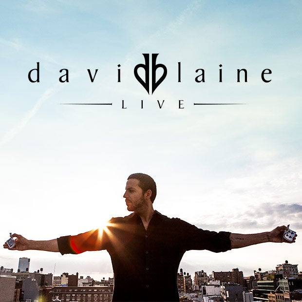 More Info for 'David Blaine Live' Returns to North American Audiences for Spring and Summer Tour