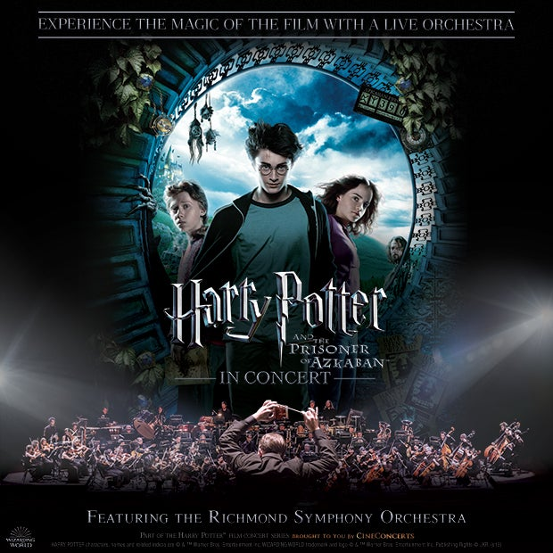 Altria Theater Announces the Third Installment of the Harry Potter Film Concert Series with Harry Potter and the Prisoner of Azkaban™ In Concert