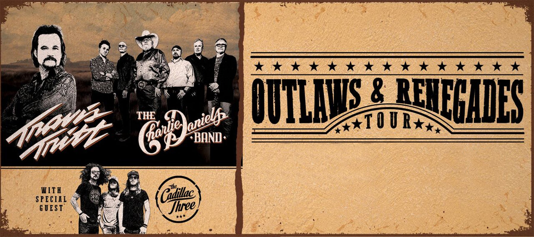 Travis Tritt: The Outlaws and Renegades Tour