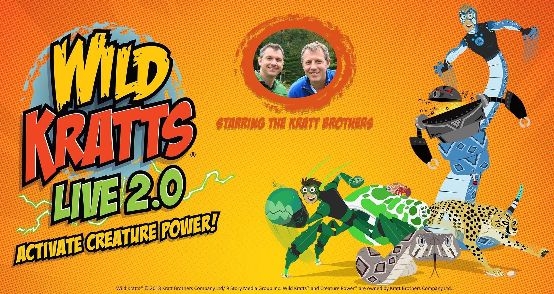 Wild Kratts LIVE 2.0 – Activate Creature Power!
