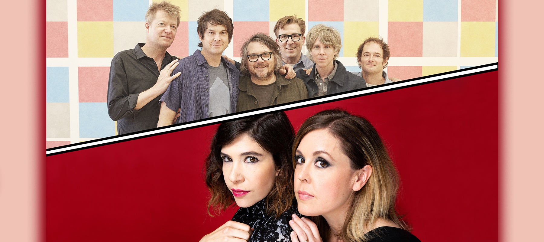 RESCHEDULED: Wilco + Sleater-Kinney: It's Time Summer 2021 Tour