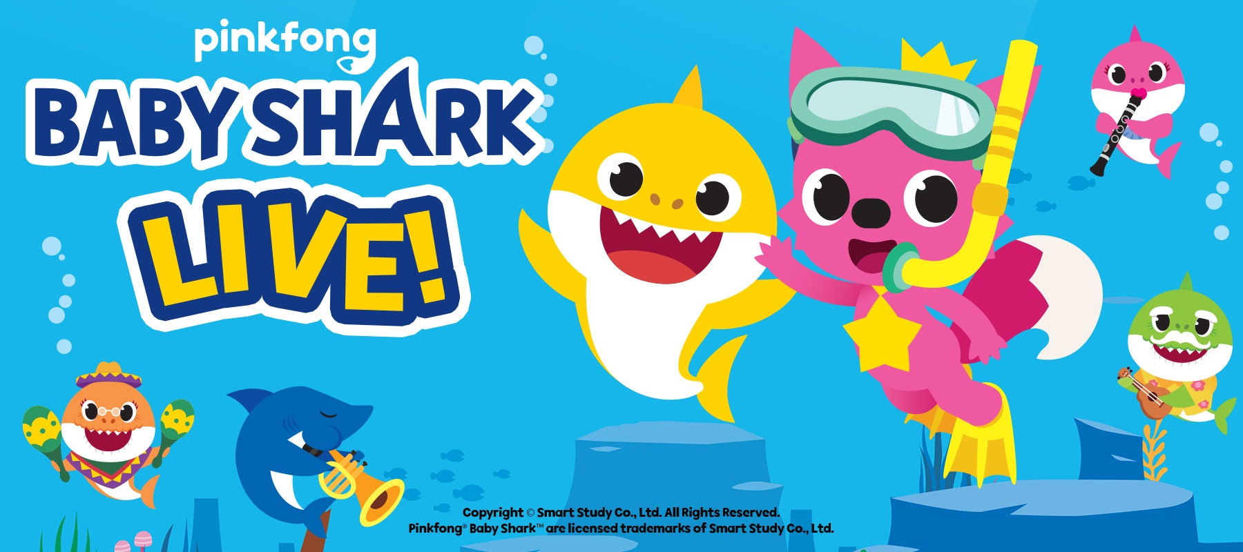 RESCHEDULED: Baby Shark Live!