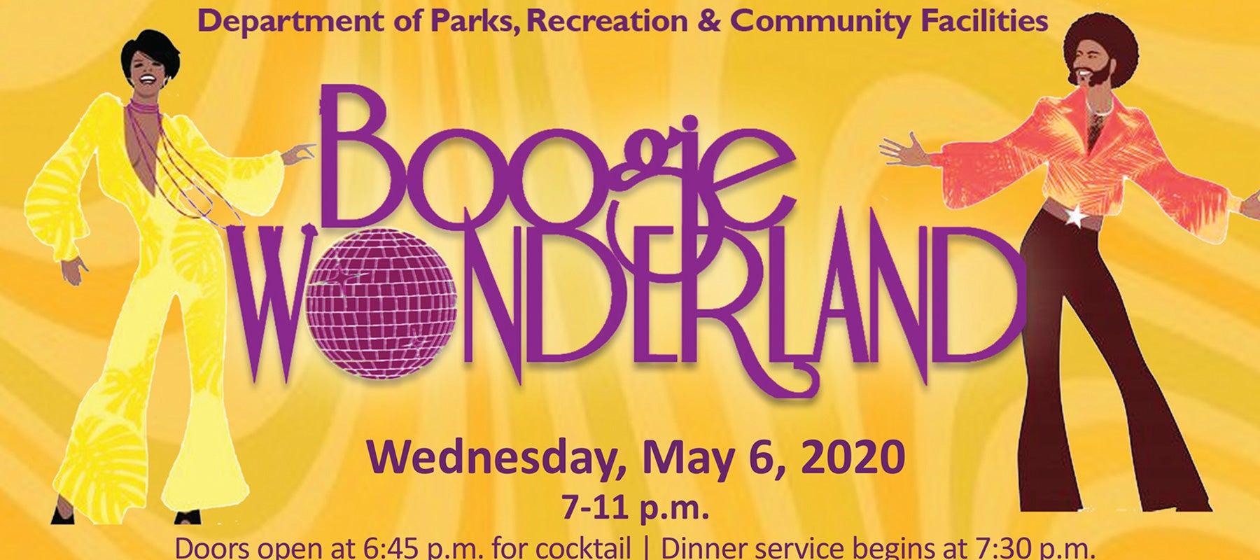 CANCELLED Boogie Wonderland, Dept. of Parks & Recreation